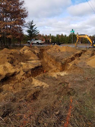 AJ Construction of WI job site